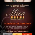 Leták MISS TSS 2013